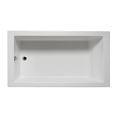 Americh Wright 60'' x 32'' Drop in Bathtub; Almond