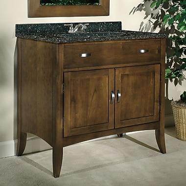 Kaco Metro 30'' Single Bathroom Vanity Set; Green Granite