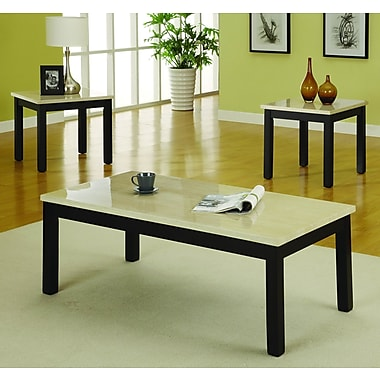 Woodhaven Hill Archstone 3 Piece Coffee Table Set