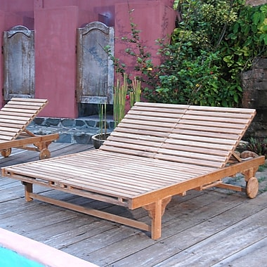 Anderson Teak Bel-Air Double Chaise Lounge