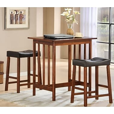 Woodhaven Hill Scottsdale 3 Piece Dining Set; Cherry