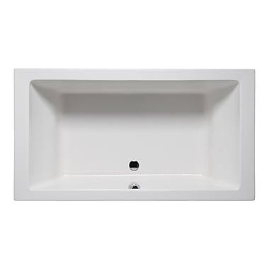 Americh Vivo 66'' x 36'' Drop in Bathtub; White