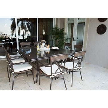 Panama Jack Rum Cay 9 Piece Dining Set