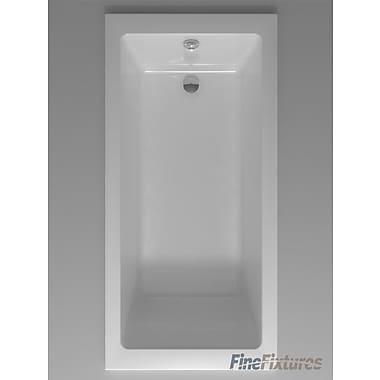 Fine Fixtures Drop In Bathtub 32'' x 48'' Soaking Bathtub