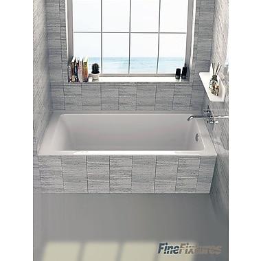 Fine Fixtures Alcove 32'' x 60'' Bathtub; Right