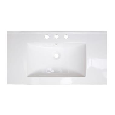 American Imaginations Drake Double Handle 36'' Single Bathroom Vanity Top