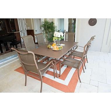 Panama Jack Island Breeze 7 Piece Dining Set; 72'' L x 42'' W