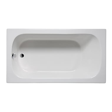 Americh Miro 72'' x 36'' Drop in Bathtub; Biscuit