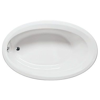 Americh Catalina 60'' x 40'' Drop in Bathtub; White