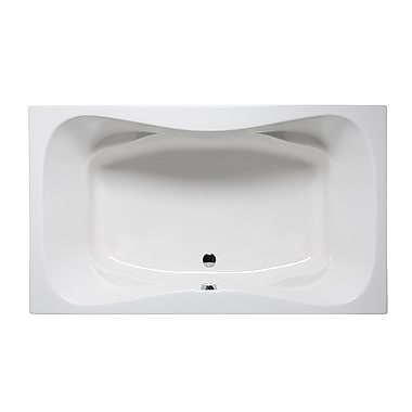 Americh Rampart II 60'' x 42'' Drop in Bathtub; Almond