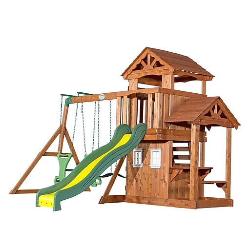 https://www.staples-3p.com/s7/is/. ×. Images for Backyard Discovery  Tanglewood All Cedar Swing Set - Backyard Discovery Tanglewood All Cedar Swing Set Staples