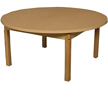 Wood Designs Circular Activity Table; 17'' H x 48'' W x 48'' D