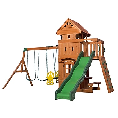 Backyard Discovery Monterey All Cedar Swing Set