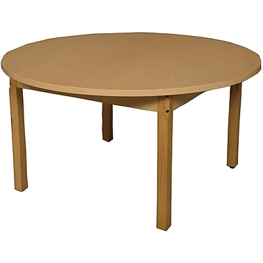 Wood Designs Circular Activity Table; 27'' H x 48'' W x 48'' D
