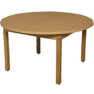 Wood Designs Circular Activity Table; 30'' H x 48'' W x 48'' D