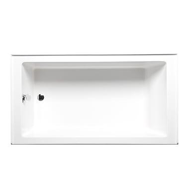 Americh Turo 60'' x 30'' Soaking Bathtub; Biscuit