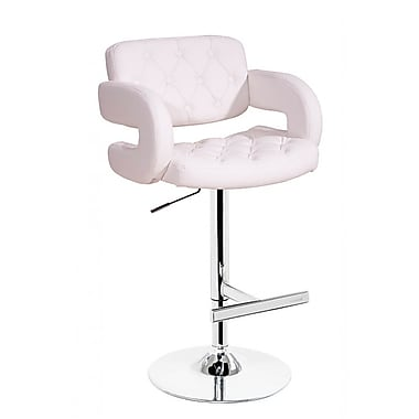 VIG Furniture Modrest 35'' Bar Stool; White