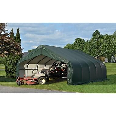 ShelterLogic 18 Ft. x 20 Ft. Garage; Green