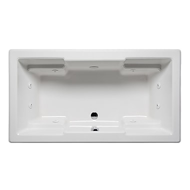 Americh Quantum 66'' x 42'' Drop in Whirlpool Bathtub; White