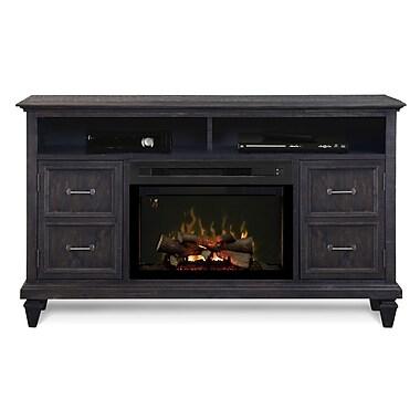 Dimplex Solomon 62'' TV Stand w/ Fireplace