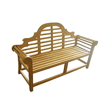D-Art Collection Lutyen Wood Garden Bench; 66''
