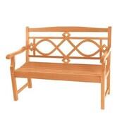 HiTeak Furniture Chelsea Two Seater Teak Garden Bench