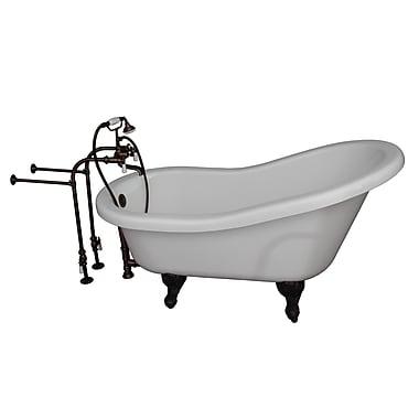 Barclay 67'' x 30'' Soaking Bathtub Kit; Oil Rubbed Bronze
