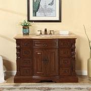 Silkroad Exclusive 48'' Single Sink Bathroom Vanity Set