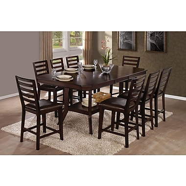Progressive Furniture Bobbie Counter Height Dining Table