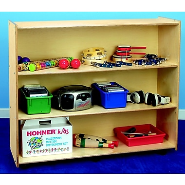 Childcraft Open Shelving Unit w/ Casters; 42'' H x 48'' W x 14.5'' D