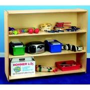 Childcraft Open Shelving Unit w/ Casters; 42'' H x 48'' W x 14.5'' D