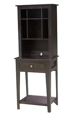 Eagle Furniture Manufacturing Hutch End Table; European Cherry