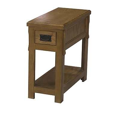 Eagle Furniture Manufacturing End Table; Caribbean Rum