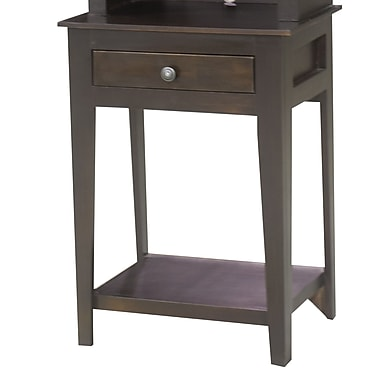 Eagle Furniture Manufacturing End Table w/ Storage; Concord Cherry