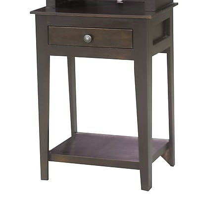 Eagle Furniture Manufacturing End Table w/ Storage; Cupola Yellow