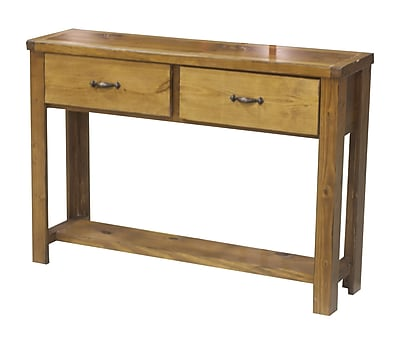 Eagle Furniture Manufacturing Console Table; Chocolate Mousse