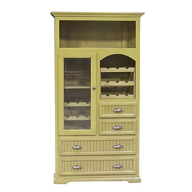 Eagle Furniture Manufacturing Corner Server; Havannah Gold