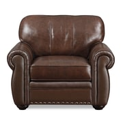 LifeStyle Solutions Lucia Leather Club Chair