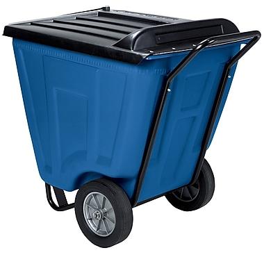 Akro Mils 60 Gallon Trash Bin; Blue