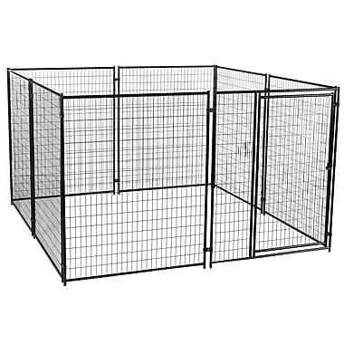 Jewett Cameron Lucky Dog Welded Wire Yard Kennel; 6' H x 10' W x 10' L