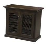 Eagle Furniture Manufacturing 24 Bottle Bar Cabinet; Burnt Cinnamon