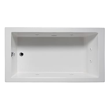 Americh Wright 60'' x 32'' Drop in Whirlpool Bathtub; Almond