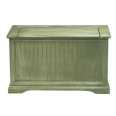 Eagle Furniture Manufacturing Storage Bench; European Ivory