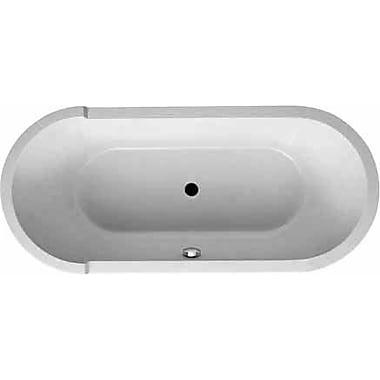 Duravit Starck 75'' x 36'' Oval Soaking Bathtub