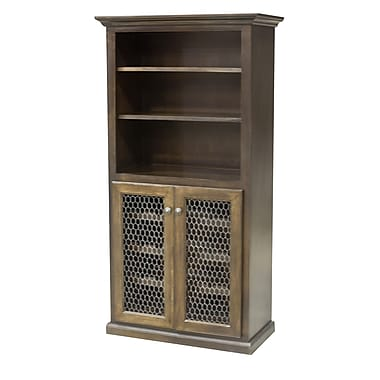 Eagle Furniture Manufacturing 24 Bottle Bar Cabinet; Concord Cherry