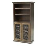 Eagle Furniture Manufacturing 24 Bottle Floor Wine Cabinet; Antique Black