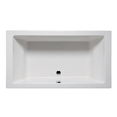 Americh Vivo 66'' x 42'' Drop in Bathtub; White