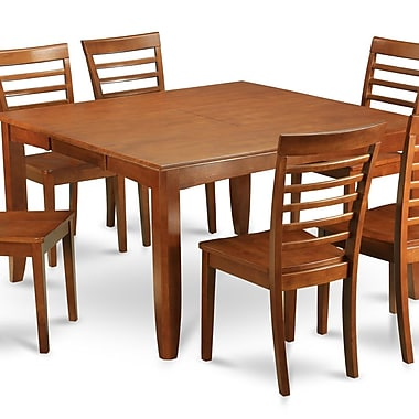 Wooden Importers Parfait 9 Piece Dining Set