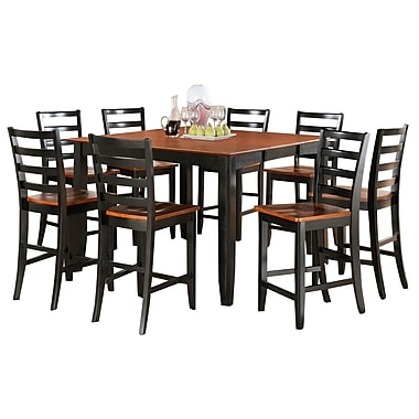 Wooden Importers Parfait 7 Piece Counter Height Dining Set