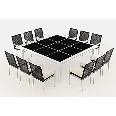 Ceets R co 13 Piece Dining Set w/ Cushions
